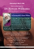 An Evening with Dr Rowan Williams, 21 March 2018